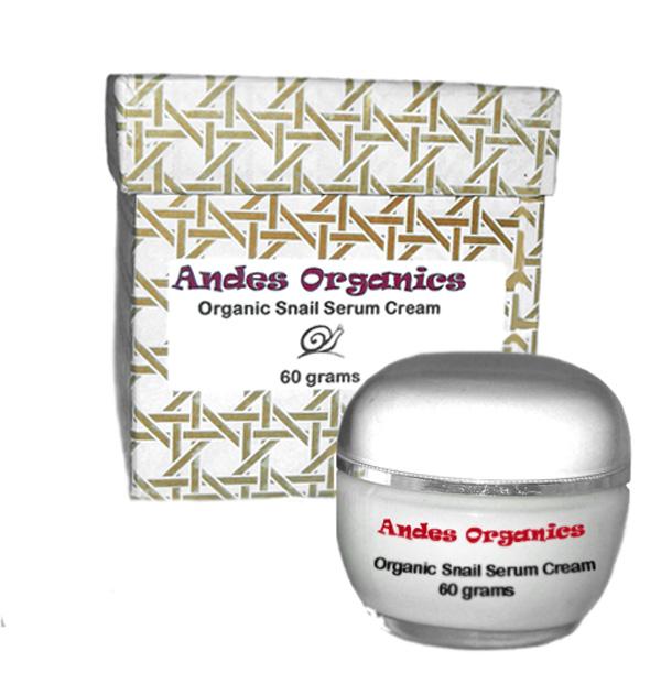 Andes Organics Snail Serum Cream:  24 Jar Case