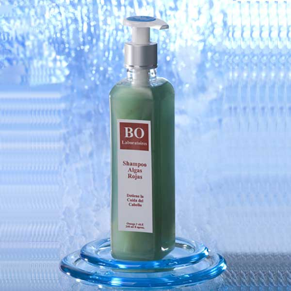 Stop Hair Loss: Red Seaweed Shampoo,48 jars case